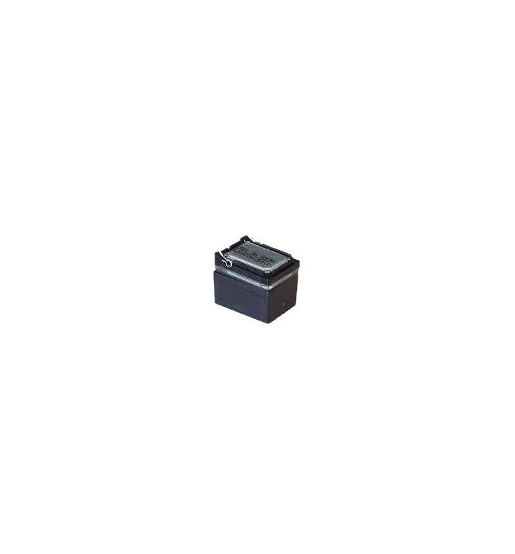 Miniaturowy głośnik o impedancji 8Ω oraz mocy 1W, z komorą rezonansową, przeznaczony do dekoderów dźwiękowych Zimo.