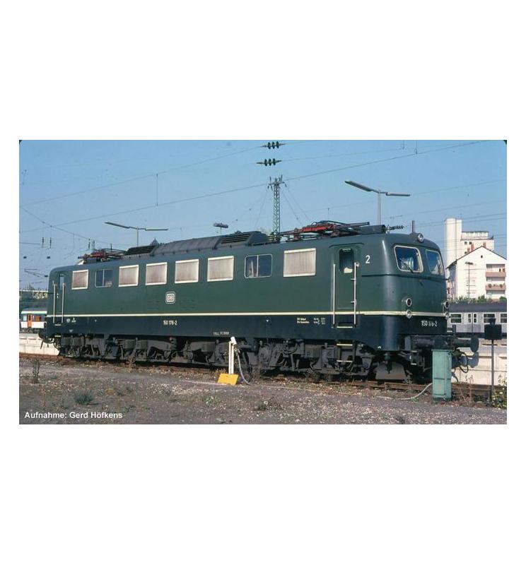 ~Elektrow.BR 150 DB IV, grün + lastg. Dec. - Piko 51641
