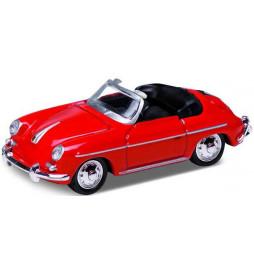 Vollmer 41608 - H0 Porsche 356 B Cabrio, red, finished model