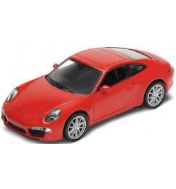 Vollmer 41611 - H0 Porsche 911 Carrera S, red, finished model
