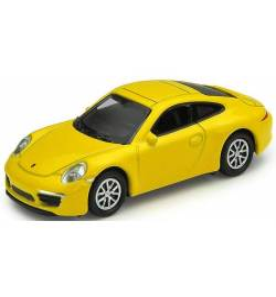 Vollmer 41612 - H0 Porsche 911 Carrera S, yellow, finished model