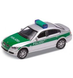 Vollmer 41630 - H0 Samochód BMW 330i Policja, zielono-srebrny