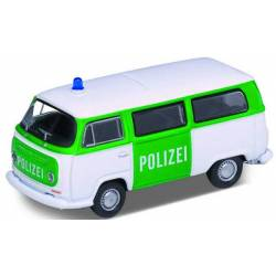 Vollmer 41680 - H0 VW Bus T2 1972, police, green/white,