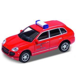 Vollmer 41688 - H0 Porsche Cayenne Turbo, fire brigade, red,