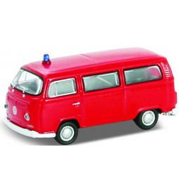 Vollmer 41689 - H0 VW Bus T2, red, finished model