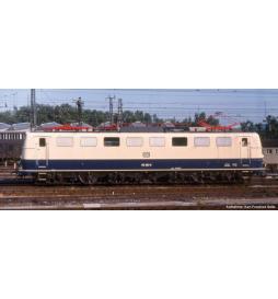 ~Elektrow.BR 150 DB IV, blau/beige + lastg. Dec. - Piko 51643