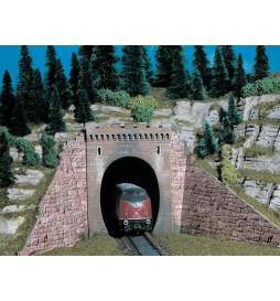 Vollmer 42501 - H0 Portal tunelu jednotorowego, 2szt