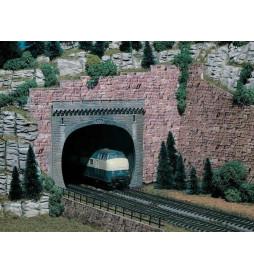 Vollmer 42502 - H0 Portal tunelu dwutorowego, 2 szt.