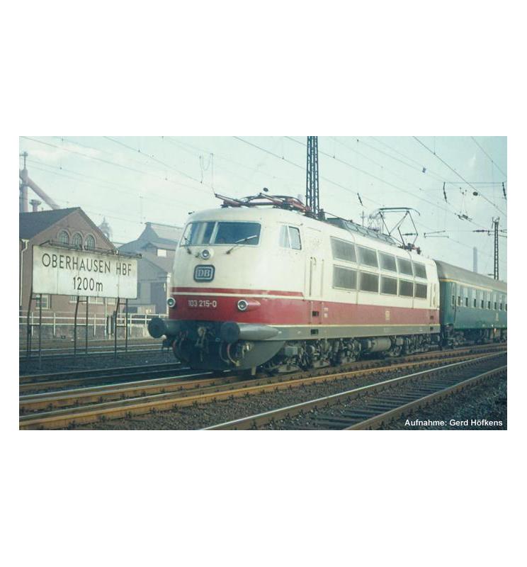 ~Elektrow.BR 103 DB IV Schürze, Scherenpantos DB IV + lastg. Dec. - Piko 51671