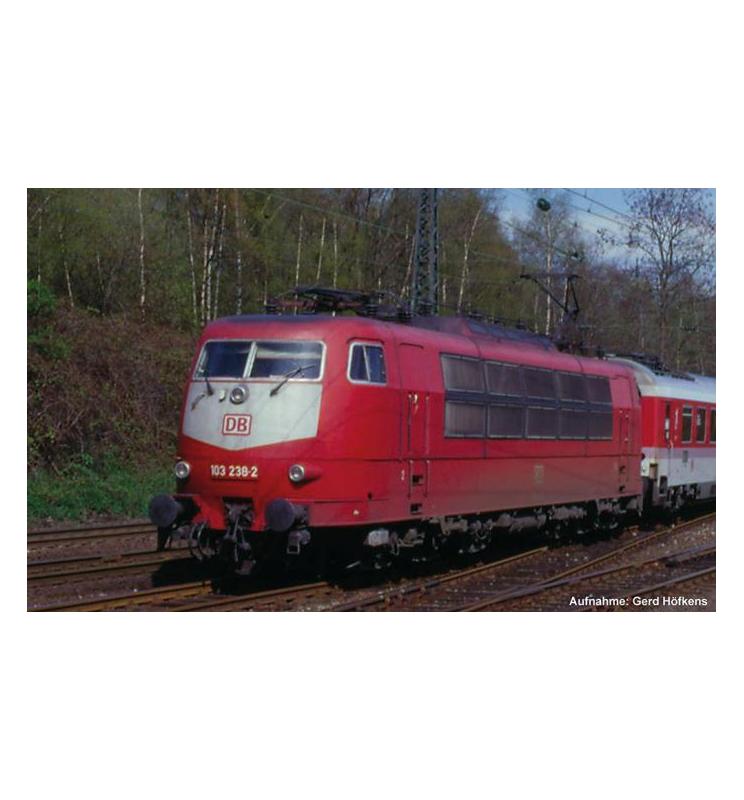 ~Elektrow.BR 103 DB AG V, Einholmpantos + lastg. Dec. - Piko 51673