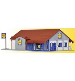Vollmer 43662 - H0 Lidl supermarket