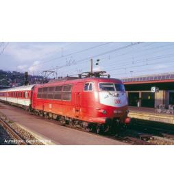 ~Elektrow.z dek. BR 103 DB IV o. Schürze, orientrot - Piko 51675