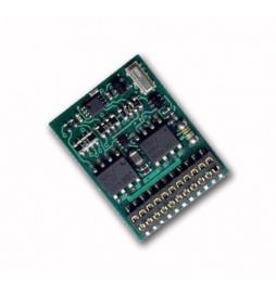 Dekoder jazdy i oświetlenia Lenz Silver 21 + (Lenz 10321-01) DCC 21-pin