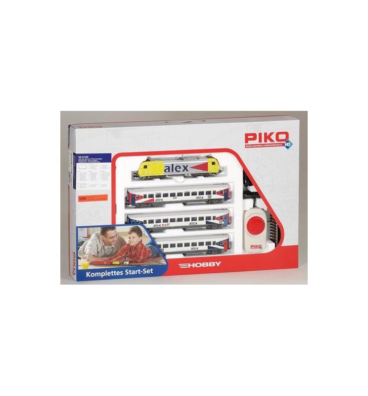 Zestaw Startowy Osobowy Alex + 3 wagony - Piko 57130