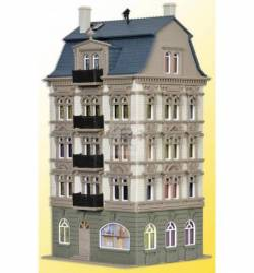 Vollmer 43815 - H0 Dom miejski w parku, Schlossallee 5