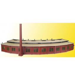 Vollmer 45758 - H0 Lokomotywownia wachlarzowa 6 stanowisk z mechanizmem zamykania bram