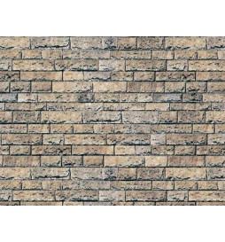 Vollmer 46038 - H0 Wall plate basalt of cardboard, 25 x 12,5 cm