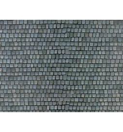 Vollmer 46041 - H0 Wall plate cobblestone of cardboard,