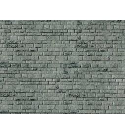 Vollmer 46052 - H0 płytka kartonowa z imitacją muru kamiennego 25 x 12,5 cm
