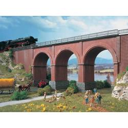 Vollmer 47313 - N Viaduct brick-built