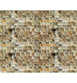Vollmer 47363 - N Wall plate sandstone of cardboard, 25 x 12,5 cm