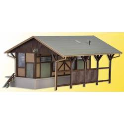 Vollmer 47539 - N Freight shed, open