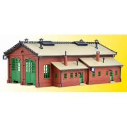 Vollmer 47608 - N Loco shed, double track
