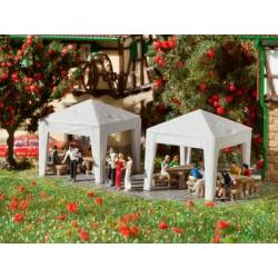 Vollmer 47629 - N Party tents, 2 pieces