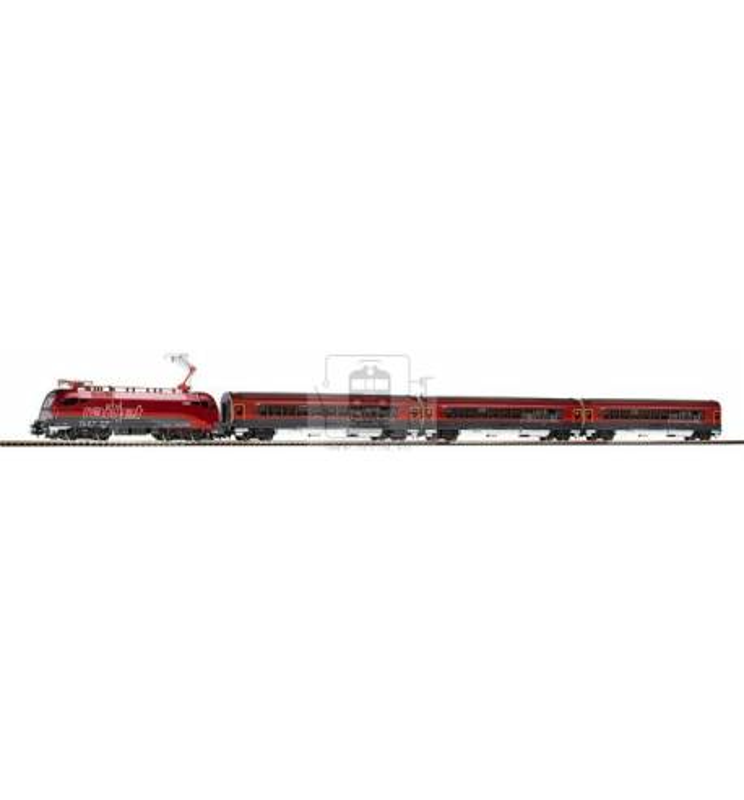 Zestaw Startowy Osobowy Elektrowóz Railjet ÖBB - Piko 57172