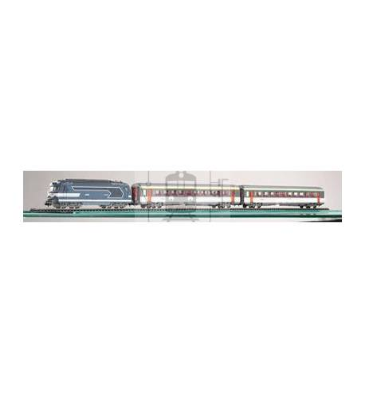Zestaw Startowy Osobowy BB 67000 SNCF + 2 Wagony - Piko 59010