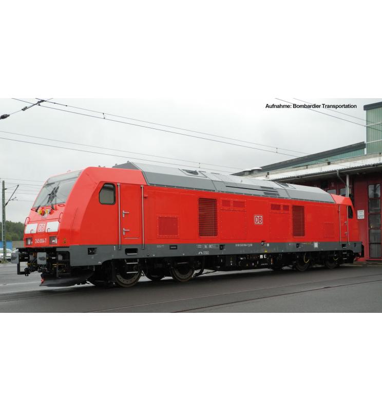 ~Spalinow.z dek. BR 245 DB AG VI + lastg.Dec. - Piko 52513