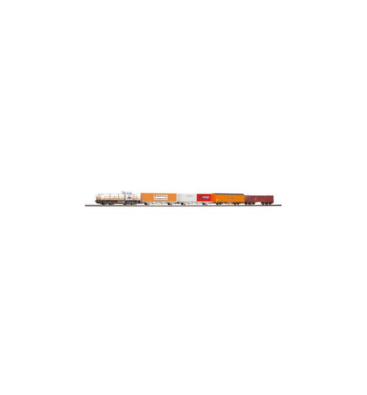 Zestaw Startowy Towarowy SBB z AM843 + 4 Wagony - Piko 59110