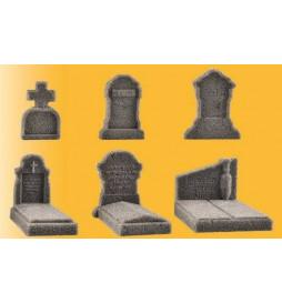 Vollmer 48282 - H0 Nagrobki, cmentarz