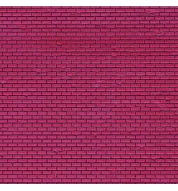 Vollmer 48723 - 0 Wall plate clinker, L 54 x W 16,3 cm