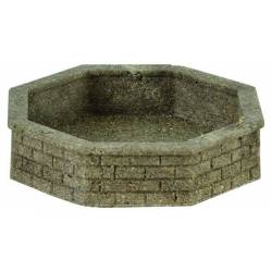 Vollmer 48761 - 0 Fountain, octagonal, 2 pieces