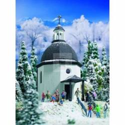 Vollmer 49412 - Z Silent Night Memorial Chapel with lighting,