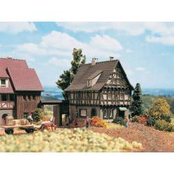 Vollmer 49530 - Z Half-timbered house with yard gate