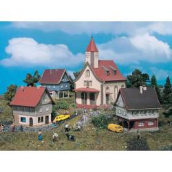 Vollmer 49555 - Z Set Village ***discontinued item***