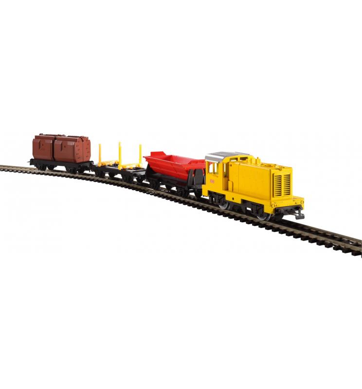 PIKO myTrain Zestaw Startowy Towarowy z lokomotywą spalinową - Piko 57090