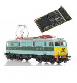 Dekoder jazdy i dźwięku do EP07 Piko MX645P22-EP07 (3W) DCC PluX 22-pin