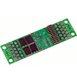 Płytka adapter z gniazdem dekodera PluX22 (Zimo ADAPLU)