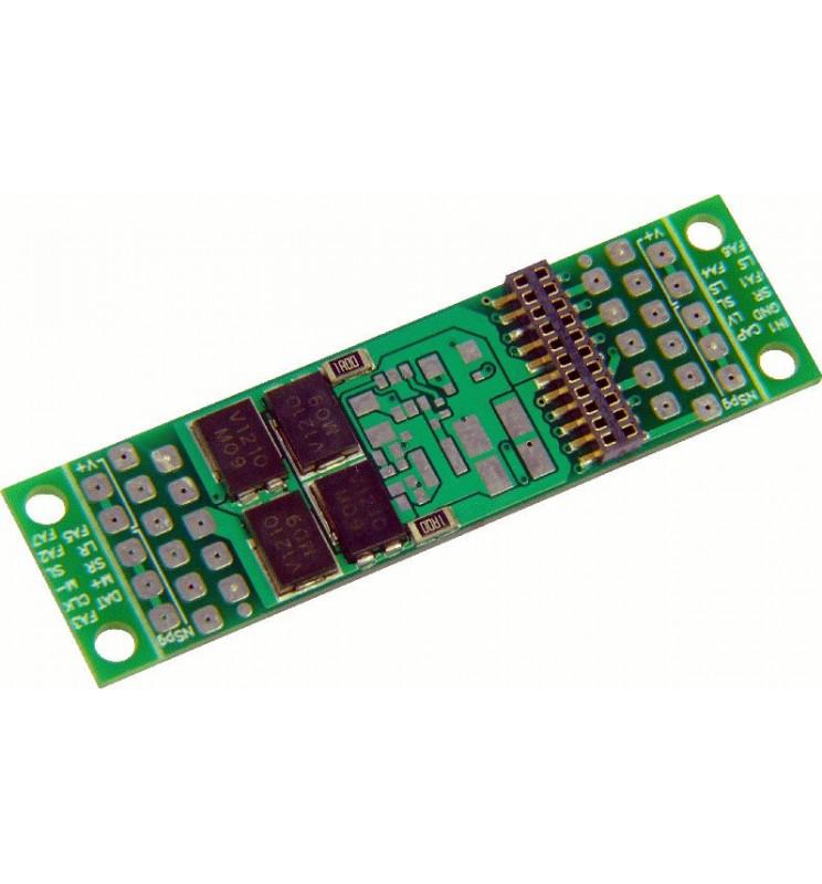 Płytka adapter z gniazdem dekodera PluX22