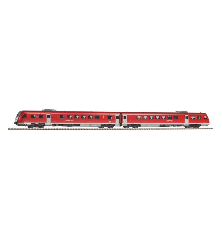 ~Spal.zesp.trak. VT 612 DB AG V + lastg. Dec. - Piko 59230