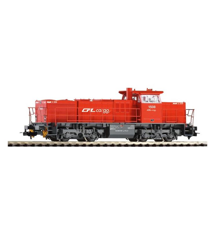 ~Spalinow. G1206 CFL Cargo rot VI + lastg. Dec. - Piko 59293