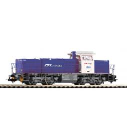 ~Spalinow. G1206 CFL Cargo blau VI + lastg. Dec. - Piko 59294