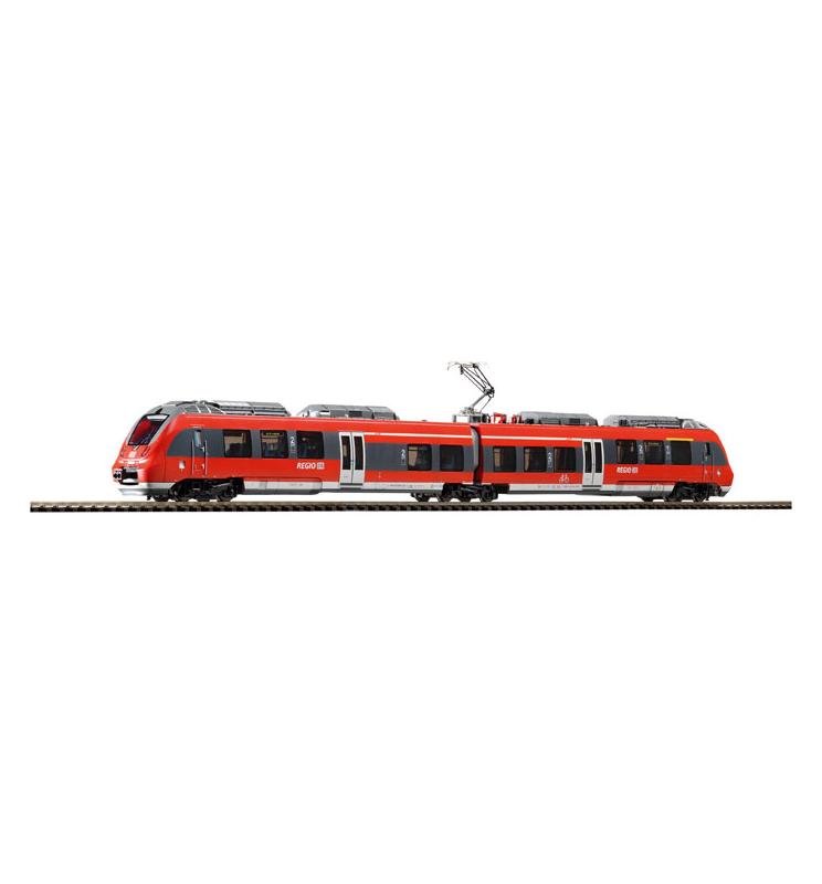 ~EL.zesp.trak. BR 442 Talent 2 Cottbus DB AG VI, 2-teilig + lastg.Dec. - Piko 59302