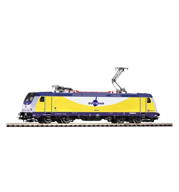 ~Elektrow. BR 146.2 Metronom VI. 2 pantografy + lastg. Dec. - Piko 59353