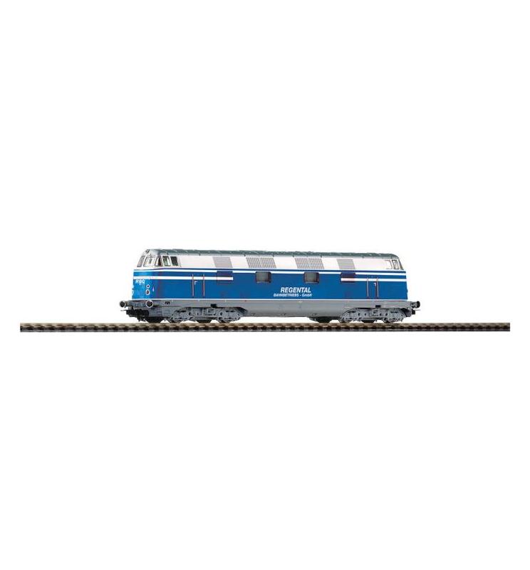 ~Spalinow. D05 Regentalbahn V, 4-achs. + latg. Dec. - Piko 59367