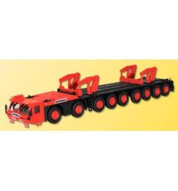 Kibri 10442 - H0 Transport vehicle for GOTTWALD telescopic crane