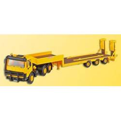 Kibri 10466 - H0 MB with T3 low-loader trailer